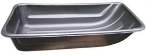 Сани рыболовные Bemal (пласт. корыто) № 9/2 1205х600х260мм, чёрные