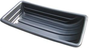 Сани рыболовные Bemal (пласт. корыто) №11/2 1100х540х230мм, чёрные