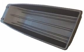 Сани рыболовные Bemal (пласт. корыто) №13 1500х550х200мм, чёрные