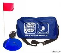 Жерлицы неоснащенные (10)шт Большая синяя сумка
