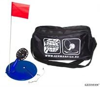 Жерлицы оснащённые (10шт) Большая чёрная сумка
