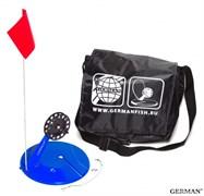 Жерлицы оснащённые (10шт) Малая чёрная сумка