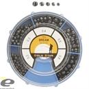 Набор Дробинок Gold Star Split Shot Competition Bream 100гр (0,2-0,3-0,4-0,5-0,8гр)