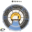 Набор Дробинок Gold Star Split Shot Competition Bream 150гр (0,2-0,3-0,4-0,5-0,8гр)