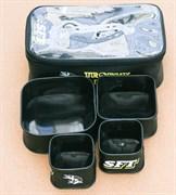 Набор емкостей для прикормки и насадки SFT ПВХ - 5 в 1