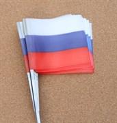 Флажки для жерлиц большие Россия 50шт