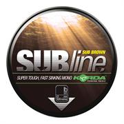 Леска Korda Subline Brown 0,35мм