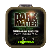 Поводковый материал Korda Dark Matter Tungsten Coated Braid Weed Green 25lb 10м