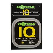 Поводковый материал Korda IQ The Intelligent Hooklink 20lb