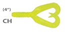 Мягкая приманка Mann'S Twister Grub 4 Ch 10шт/уп
