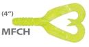 Мягкая приманка Mann'S Twister Grub 4 Mfch 10шт/уп