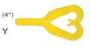 Мягкая приманка Mann'S Twister Grub 4 Y 10шт/уп