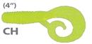 Мягкая приманка Mann'S Twister Mannipulator Grub 4 Ch 8шт/уп