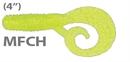 Мягкая приманка Mann'S Twister Mannipulator Grub 4 Mfch 8шт/уп