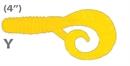 Мягкая приманка Mann'S Twister Mannipulator Grub 4 Y 8шт/уп