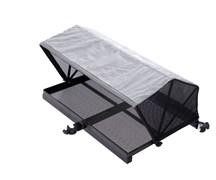 Столик с тентом и креплением к платформе Flagman side tray with tent 670x510mm D25mm