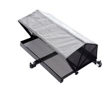 Столик с тентом и креплением к платформе Flagman side tray with tent 670x510mm D36mm