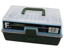 Ящик Flagman пластиковый 2-х полочный серый