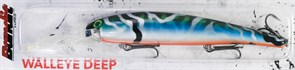 Воблер Bandit Deep Walleye OL120 Tiger Blue Green