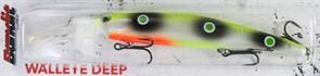 Воблер Bandit Deep Walleye D85 Lemonback Grn Dots