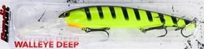 Воблер Bandit Deep Walleye 206 Chartreuse Black Stripes