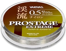 Монофильная леска Varivas Pro Stage Keiryu Nylon 60м #0.5 / 0,117мм