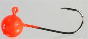 Микро-джиг Fishguru Шар 3,3гр Крючок №2 3шт/уп Красный
