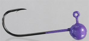 Микро-джиг Fishguru Шар 1,3гр Крючок №2 3шт/уп Сиреневый