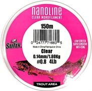 Леска Sufix Nanoline Trout 150м прозрачная 0,18мм 3,1кг