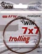 Поводок Win 7х7 (AFW) 28кг 80см 1шт/уп Trolling