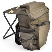 Табурет складной средний (рамка в рамку) с рюкзаком