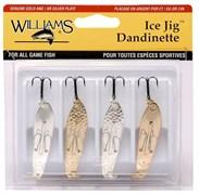 Набор блесен Williams Ice Jig 4-J50CL