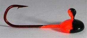 Джиг-таблетка FishGuru цвет красно-черный 2,5гр Крючок Selner №1 2шт/уп