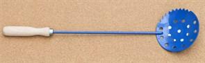 Черпак синий малый с пенопластовой ручкой