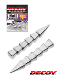Груз Decoy DS-10 #1/20oz Nail Sinker (1,5 гр. 7 шт.)