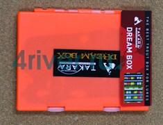 Коробка для Блёсен Takara 198x149x20мм оранжевая