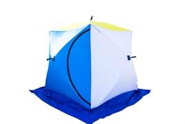 Палатка для зимней рыбалки Стэк Куб 2 трехслойная