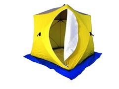 Палатка для зимней рыбалки Стэк Куб 3 трехслойная