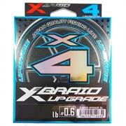 Леска Плетёная YGK X-Braid Upgrade PE X4 100м #0.4 8lb