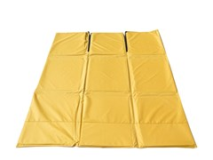 Пол для палатки СТЭК КУБ 3 (2,25х2,25м) желтый Оксфорд 600