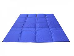 Пол для палатки СТЭК КУБ 3 (2,25х2,25м) синий Оксфорд 300