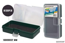 Коробка для приманок German Storage Baits NP 160x90x32мм Green