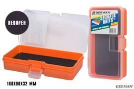 Коробка для приманок German Storage Baits NP 160x90x32мм Orange