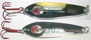 Блесна G.Angler Secretariat 6гр 57мм цвет Half Silver/Half Gold
