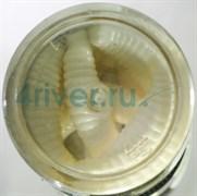 Мягкая приманка Микруха Maggot 3.8см 10шт/уп Сыр Белый