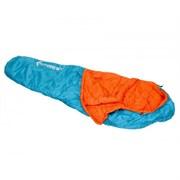 Спальный мешок Forrest Trek 350 Blue-Orange 220x80x50см