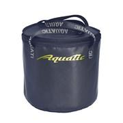 Ведро Aquatic В-04 для замешивания прикорма с крышкой ПВХ, герметичное, синее