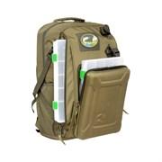 Рюкзак Рыболовный Aquatic РК-02 с коробками FisherBox хаки