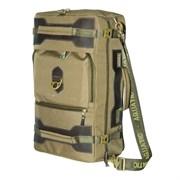 Сумка-рюкзак Aquatic С-27Х с кожаными накладками цвет хаки