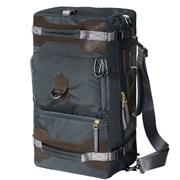 Сумка-рюкзак Aquatic С-27ТС с кожаными накладками цвет темно-серый